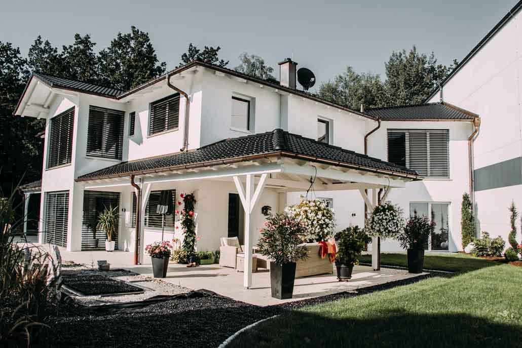 Einfamilienhaus im Villenstil