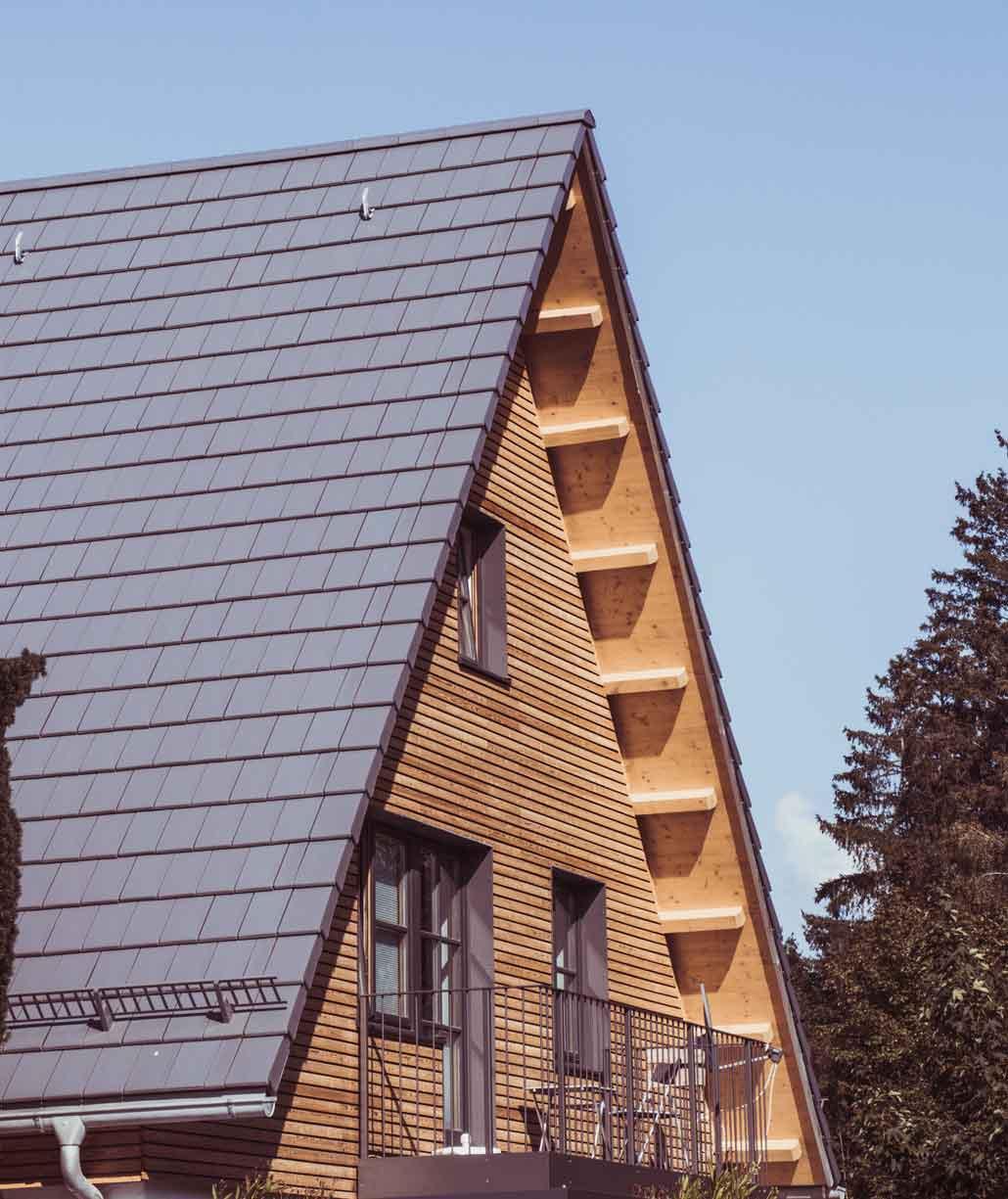 Energetische Sanierung Steildach